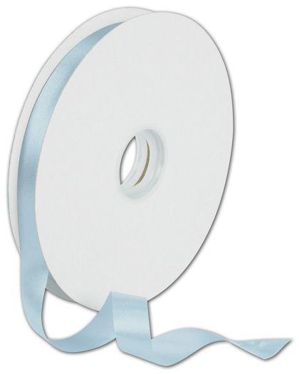 """Dyna Light Blue Satin Ribbon, 5/8"""" x 100 Yds"""