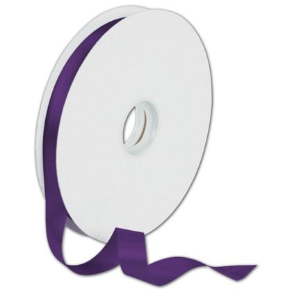 "Dyna Purple Satin Ribbon, 5/8"" x 100 Yds"