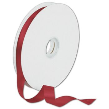 Dyna Red Satin Ribbon, 5/8