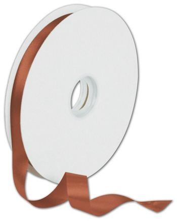 Dyna Copper Satin Ribbon, 5/8
