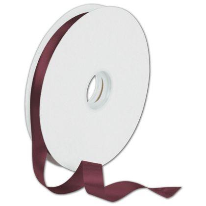 "Dyna Burgundy Satin Ribbon, 5/8"" x 100 Yds"