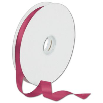 Dyna Cyclamen Satin Ribbon, 5/8
