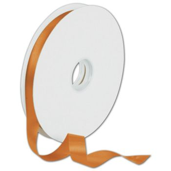 Dyna Tangerine Satin Ribbon, 5/8