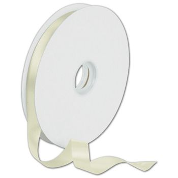 Dyna Ivory Satin Ribbon, 5/8