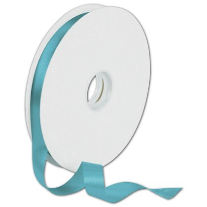"Dyna Turquoise Satin Ribbon, 5/8"" x 100 Yds"