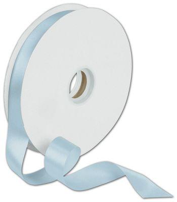 Dyna Light Blue Satin Ribbon, 7/8