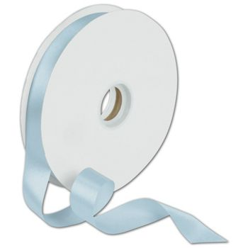 Dyna Light Blue Satin Ribbon, 7/8