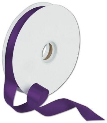 Dyna Purple Satin Ribbon, 7/8