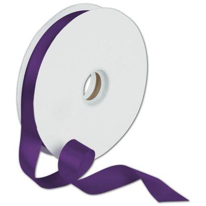 "Dyna Purple Satin Ribbon, 7/8"" x 100 Yds"