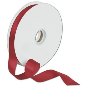 Dyna Red Satin Ribbon, 7/8