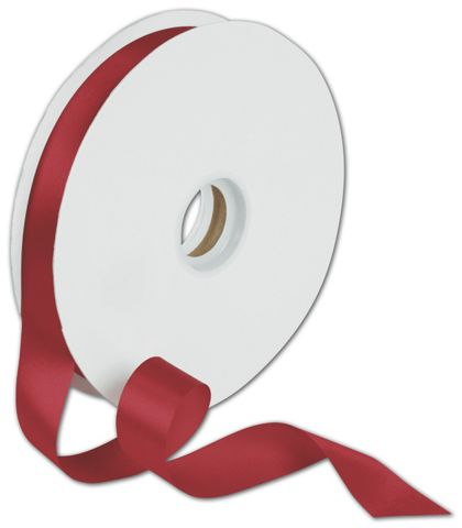 "Dyna Red Satin Ribbon, 7/8"" x 100 Yds"