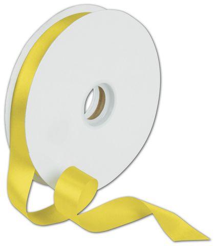 "Dyna Yellow Satin Ribbon, 7/8"" x 100 Yds"