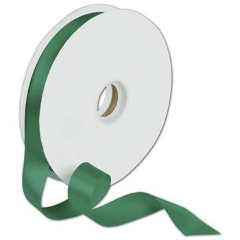 Dyna Holiday Green Satin Ribbon, 7/8
