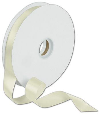 Dyna Ivory Satin Ribbon, 7/8