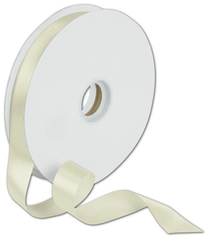 "Dyna Ivory Satin Ribbon, 7/8"" x 100 Yds"