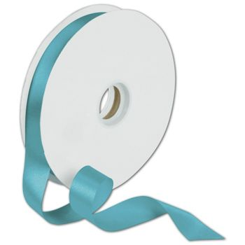 "Dyna Turquoise Satin Ribbon, 7/8"" x 100 Yds"