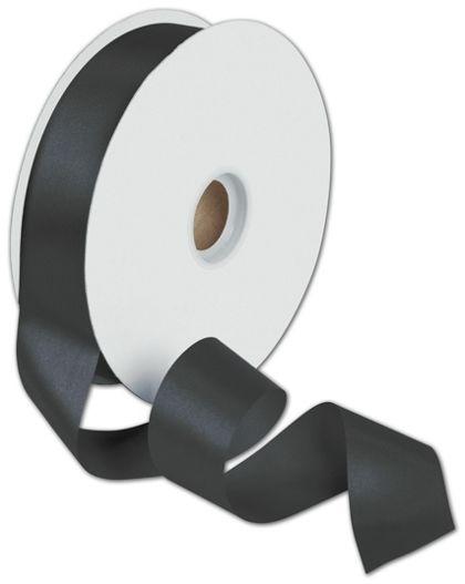 """Dyna Black Satin Ribbon, 1 3/8"""" x 100 Yds"""