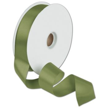 Dyna Moss Satin Ribbon, 1 3/8