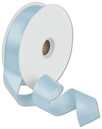 Dyna Light Blue Satin Ribbon, 1 3/8