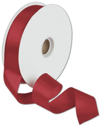Dyna Red Satin Ribbon, 1 3/8