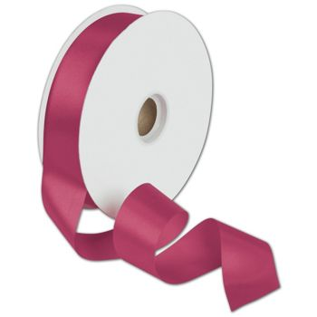 Dyna Cyclamen Satin Ribbon, 1 3/8