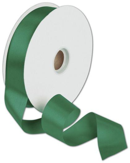 "Dyna Holiday Green Satin Ribbon, 1 3/8"" x 100 Yds"