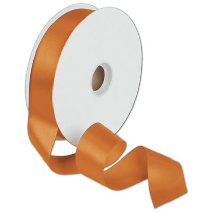 "Dyna Tangerine Satin Ribbon, 1 3/8"" x 100 Yds"