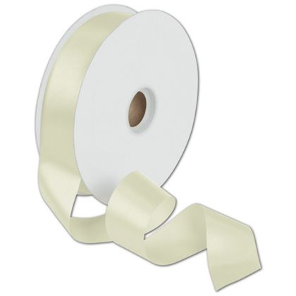 "Dyna Ivory Satin Ribbon, 1 3/8"" x 100 Yds"