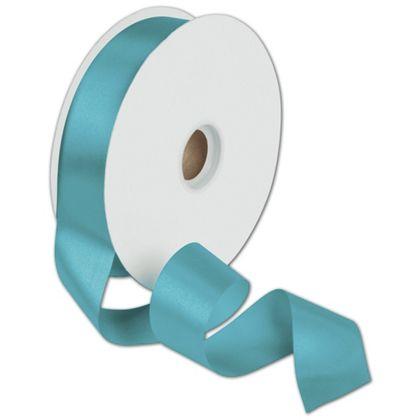 "Dyna Turquoise Satin Ribbon, 1 3/8"" x 100 Yds"