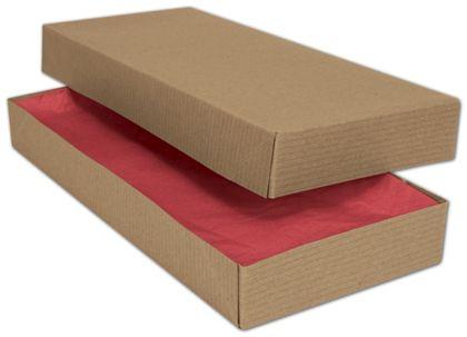 """Kraft Two-Piece Apparel Boxes, 11 1/2 x 5 1/2 x 1 1/2"""""""