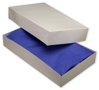 """White Two-Piece Apparel Boxes, 24 x 14 x 4"""""""