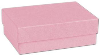 Pink Jewelry Boxes, 3 x 2 1/8 x 1