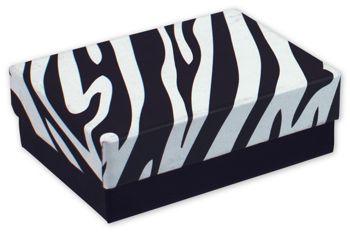 Zebra Jewelry Boxes, 3 x 2 1/8 x 1