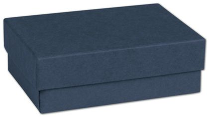 Navy Jewelry Boxes, 3 x 2 1/8 x 1""