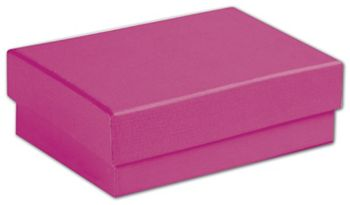 Fuchsia Jewelry Boxes, 3 1/16 x 2 1/8 x 1