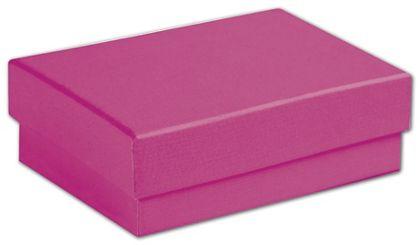 "Fuchsia Jewelry Boxes, 3 1/16 x 2 1/8 x 1"""