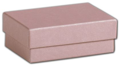 """Rose Gold Jewelry Boxes, 3 x 2 1/8 x 1"""""""