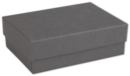 """Slate Grey Jewelry Boxes, 3 x 2 1/8 x 1"""""""