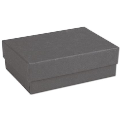 Slate Grey Jewelry Boxes, 3 x 2 1/8 x 1""