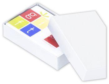 White Gift Card Boxes, 3 1/2 x 2 1/4 x 3/4