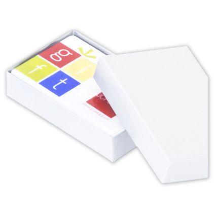 "White Gift Card Boxes, 3 1/2 x 2 1/4 x 3/4"""