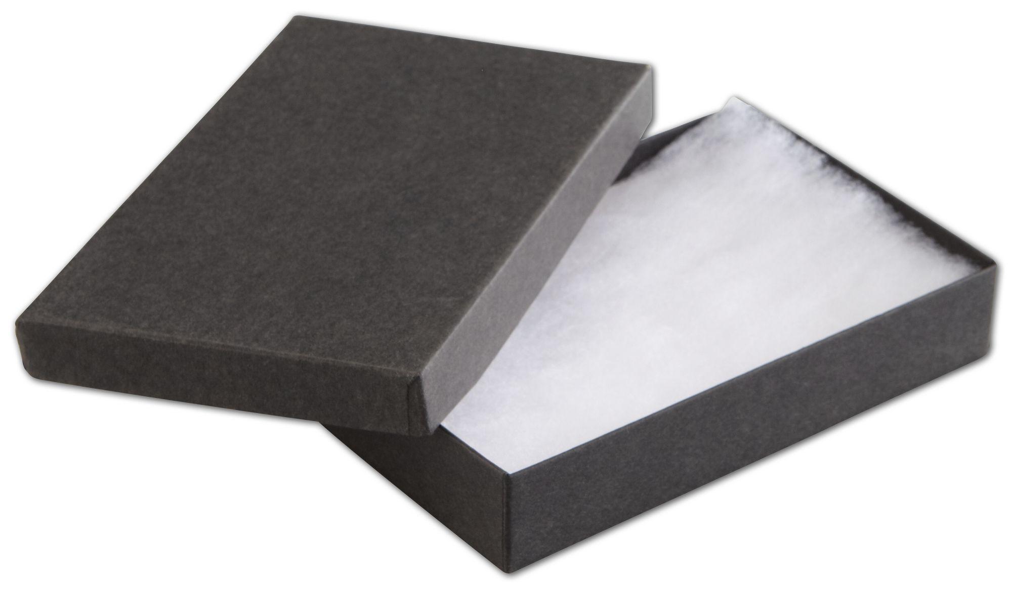 Black Jewelry Boxes 5 7 16 X 3 1 2