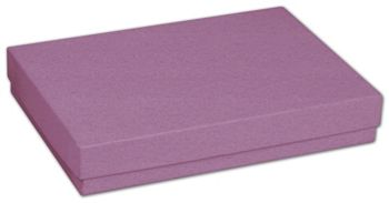 Purple Jewelry Boxes, 5 7/16 x 3 1/2 x 1