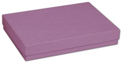 Purple Jewelry Boxes, 5 7/16 x 3 1/2 x 1""