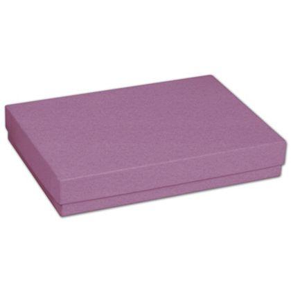 "Purple Jewelry Boxes, 5 7/16 x 3 1/2 x 1"""