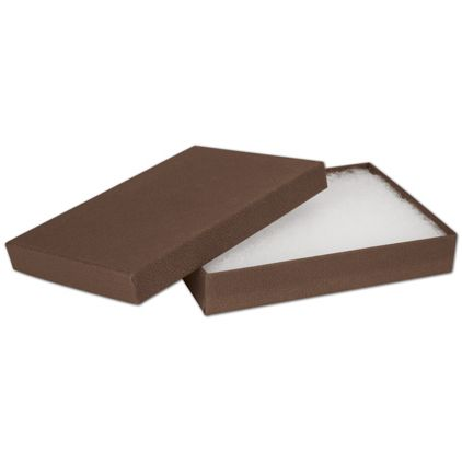"Cocoa Jewelry Boxes, 5 1/4 x 3 3/4 x 7/8"""