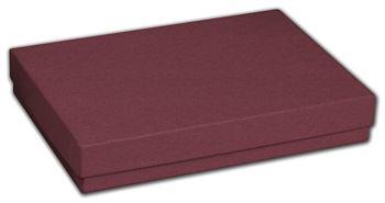 Merlot Jewelry Boxes, 5 7/16 x 3 1/2 x 1