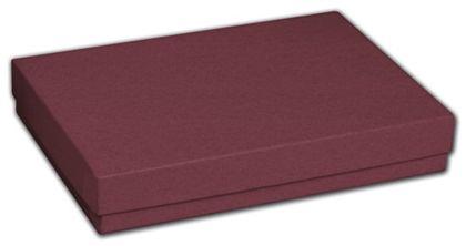 """Merlot Jewelry Boxes, 5 7/16 x 3 1/2 x 1"""""""