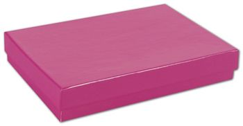 Fuchsia Jewelry Boxes, 5 1/4 x 3 3/4 x 7/8