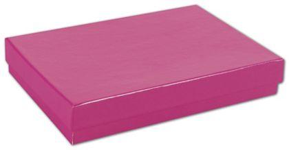 "Fuchsia Jewelry Boxes, 5 1/4 x 3 3/4 x 7/8"""